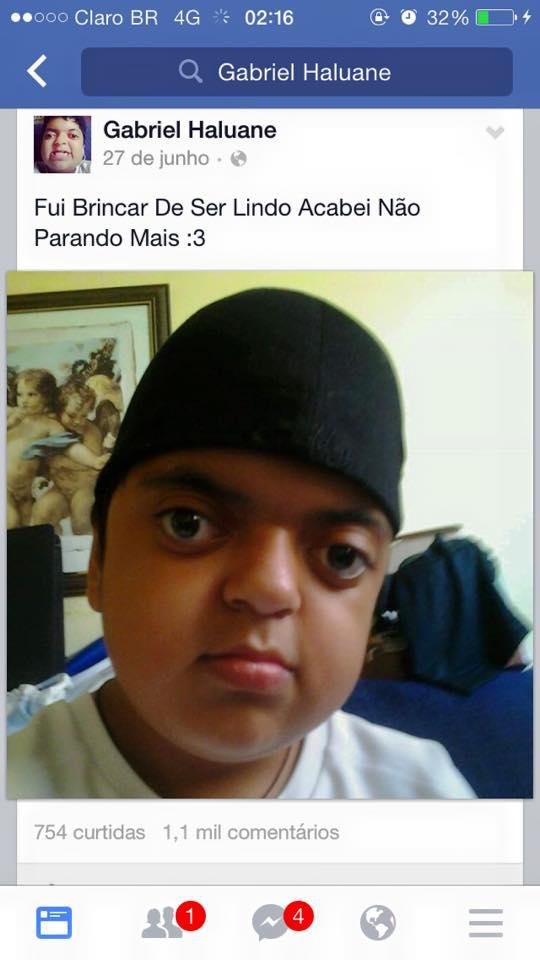 O menino mais lindo do Facebook...