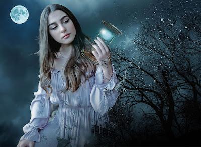 La niña de la lámpara azul  Jose Maria Eguren