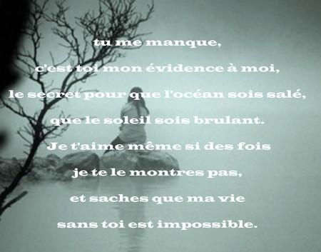 Message Pour Dire Tu Me Manque Messages Et Sms Damour