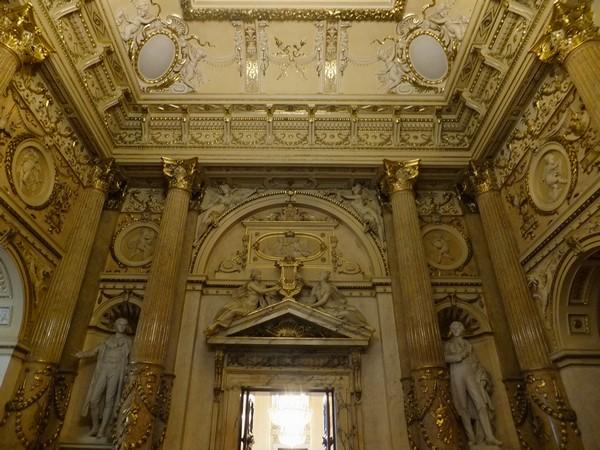 Vienne Vienna Wien Burgtheater theatre Ring visite escalier honneur gustav klimt