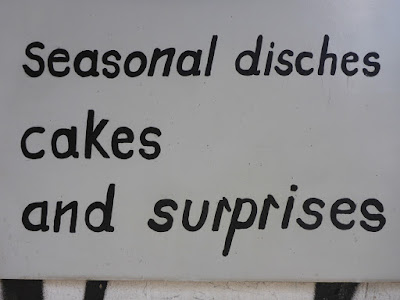 seasonal disches (sic!) | cakes | and surprises