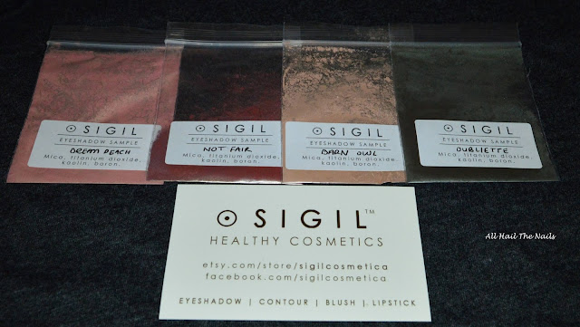 sigil cosmetica labyrinth collection