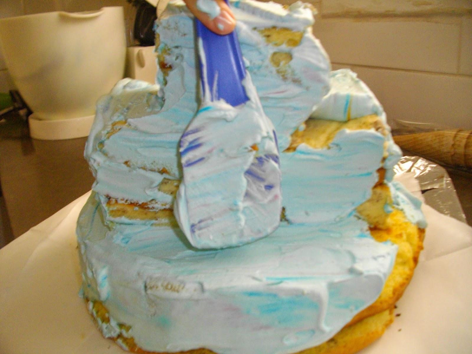 IMGP2866 - עוגת יומולדת בצורת ארמון