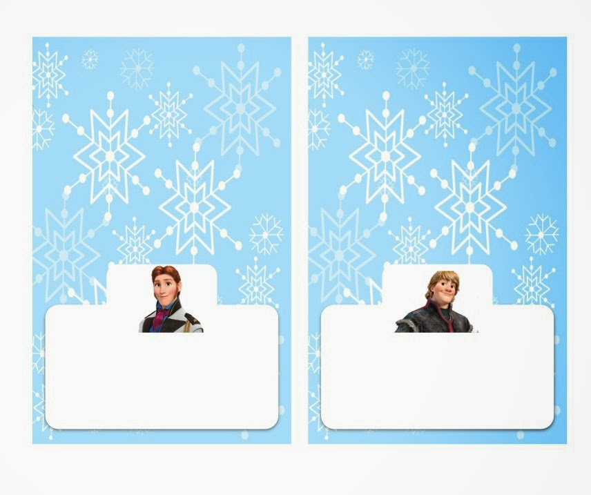 Free Printable Frozen Labels. | Oh My Fiesta! in english