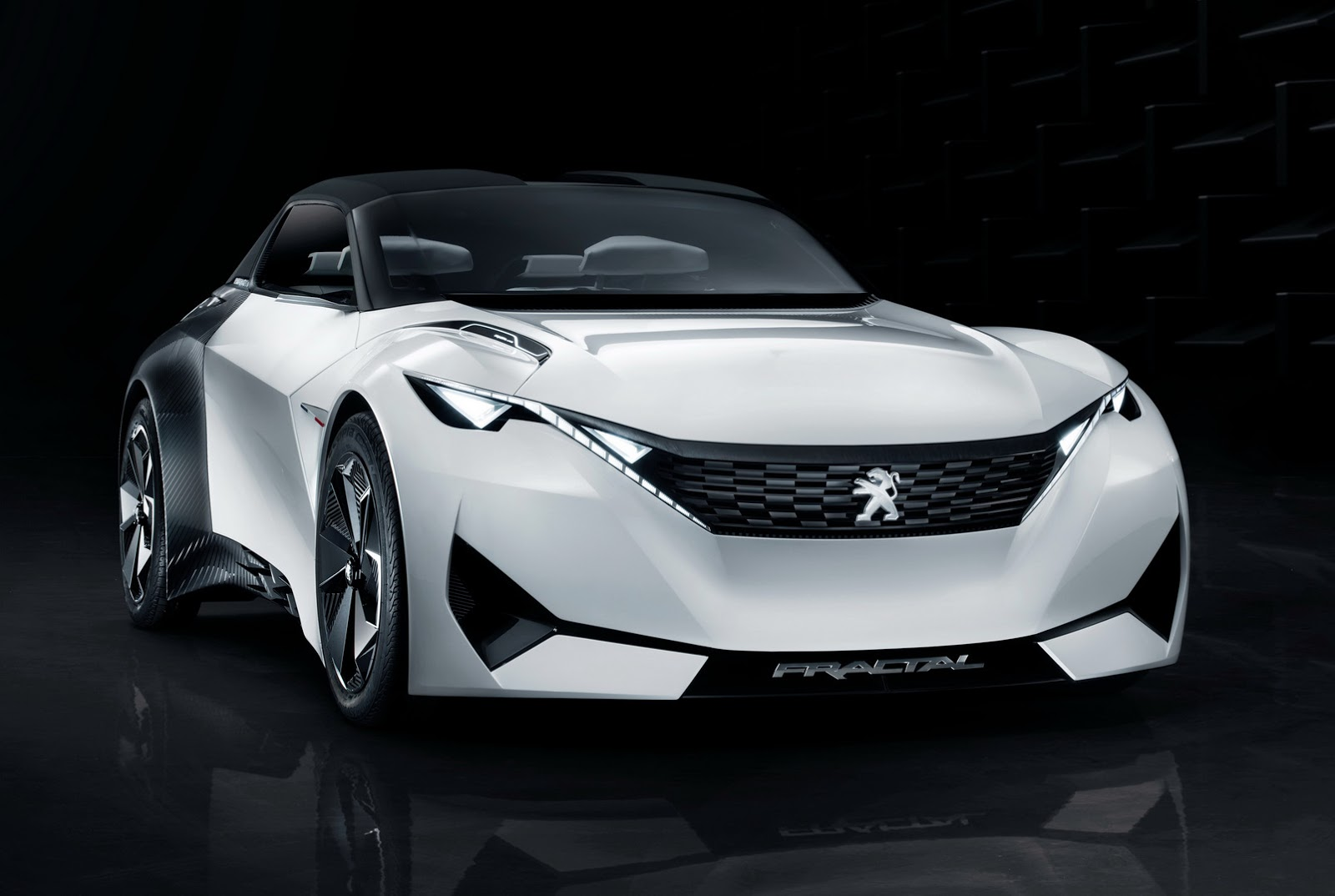 peugeot 39 s new fractal coupe hatch convertible concept in all its photo glory carscoops. Black Bedroom Furniture Sets. Home Design Ideas