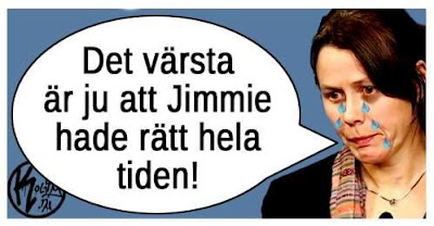 """Åsa Romson gråter: """"Det värsta är ju att Jimmie hade rätt hela tiden!"""""""