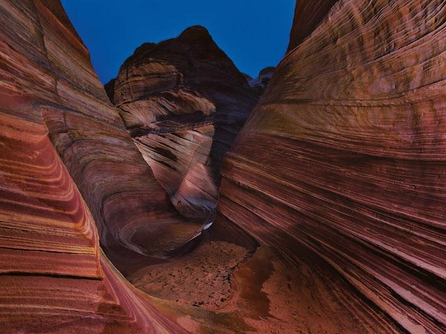 الكثبان والمنحدرات الرملية في أريزونا