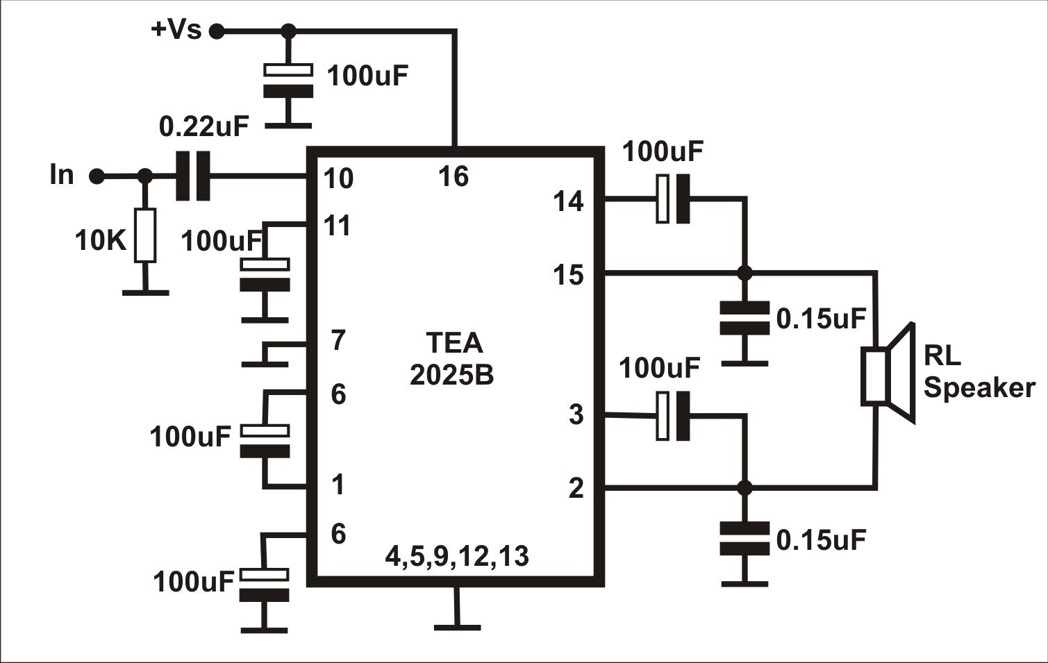 merakit rangkaian elektronika  ampli tea2025 5watt