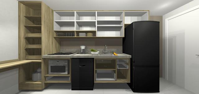 Projetando sua cozinha ideal. Blog Achados de Decoração