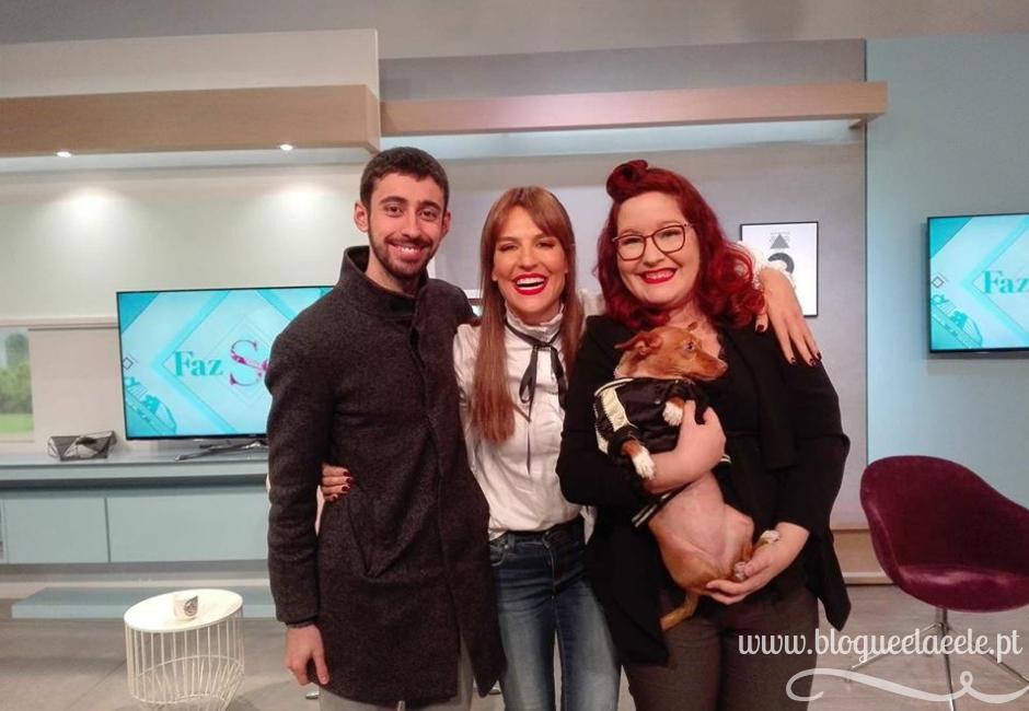 Vida de pet + programa faz sentido + ana rita clara + pedro e telma + blogue português sobre animais de estimação + sic mulher  (3)