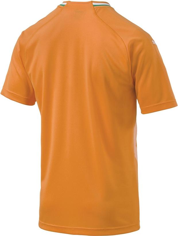 Puma lança a nova camisa titular da seleção da Costa do Marfim ... cdbf4ff388211