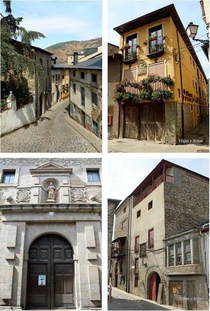 Casas de la calle del Agua, Villafranca del Bierzo, León