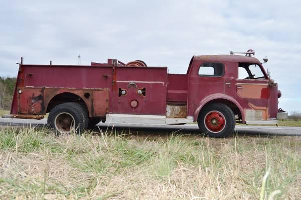 1956 American LaFrance Pumper Fire Truck