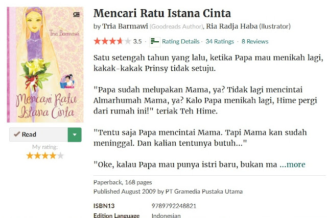 https://www.goodreads.com/book/show/8187624-mencari-ratu-istana-cinta?ac=1&from_search=true