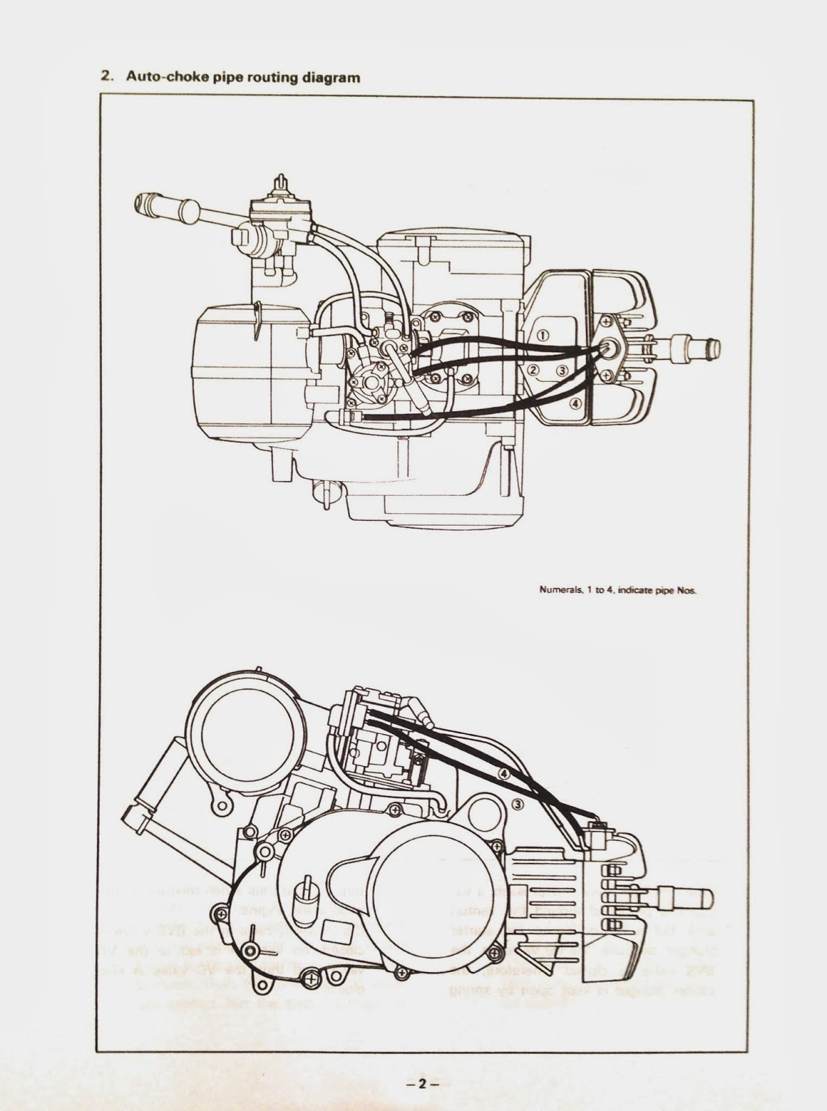 Yamaha dt 50 lc service manual
