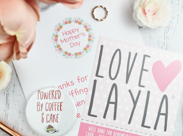 Celebrate Mother's Day, the Love Layla Way | Mother's Day Card Review, Lovelaughslipstick Blog