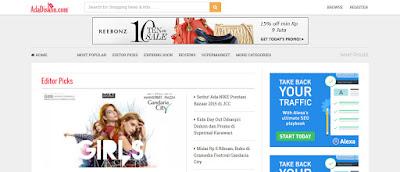 daftar situs website voucher diskon kupon promo online indonesia luar dunia terkenal terbaik populer aman terpercaya ecommerce jual beli produk pakaian fashion kecantikan elektronik terbaru