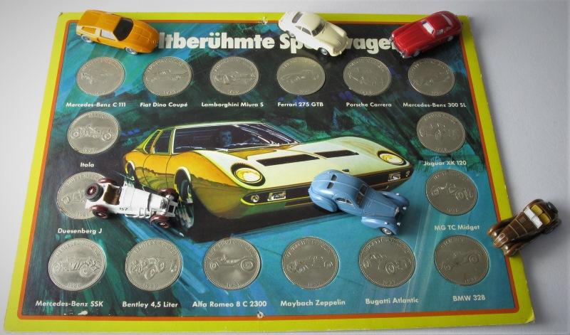 H0 Klassiker Münzen Und Briefmarken Mit Autos