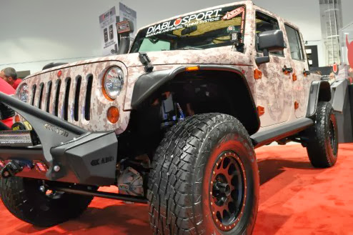 Photos: Best modified Jeep Wrangler SEMA 2013 in Las Vegas | Jeep Wrangler Off Road