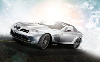 Wallpaper: Mercedes-Benz Mclaren SLR 722S