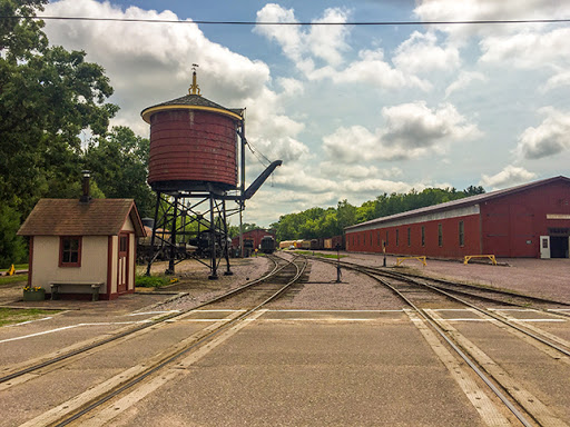 Mid-Continent Railroad Museum in North Freedom