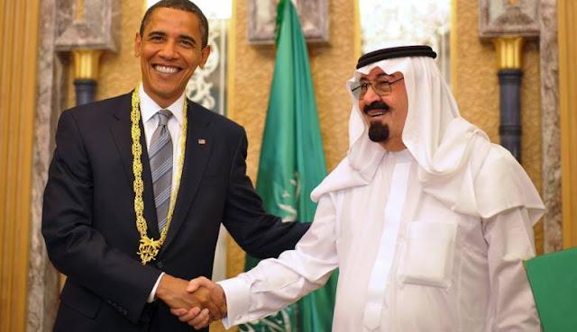 """""""حقائب مجوهرات"""" من السعودية لأوباما وأسرته تثير التساؤلات حول هدايا المملكة لترامب"""