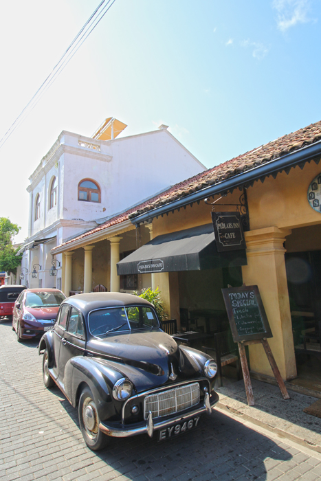 Altes Auto in Galle Fort