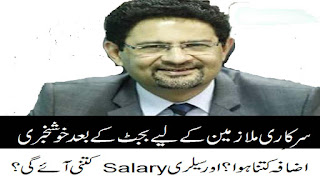 Salary Calculator 2018 finance minister