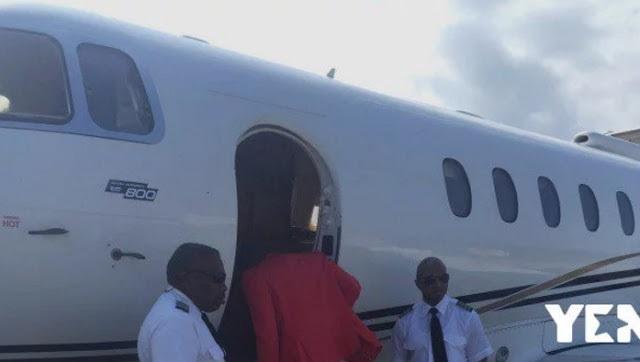 Photos: Ghanaian Pastor Kofi Danso's Church Members Buy Him Private Jet As Birthday Gift