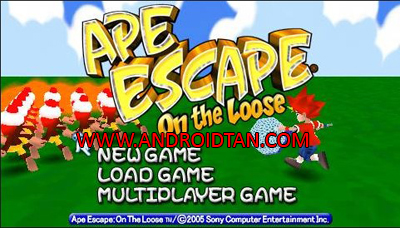 Download Ape Escape: On The Loose ISO PPSSPP Android Terbaru 2017
