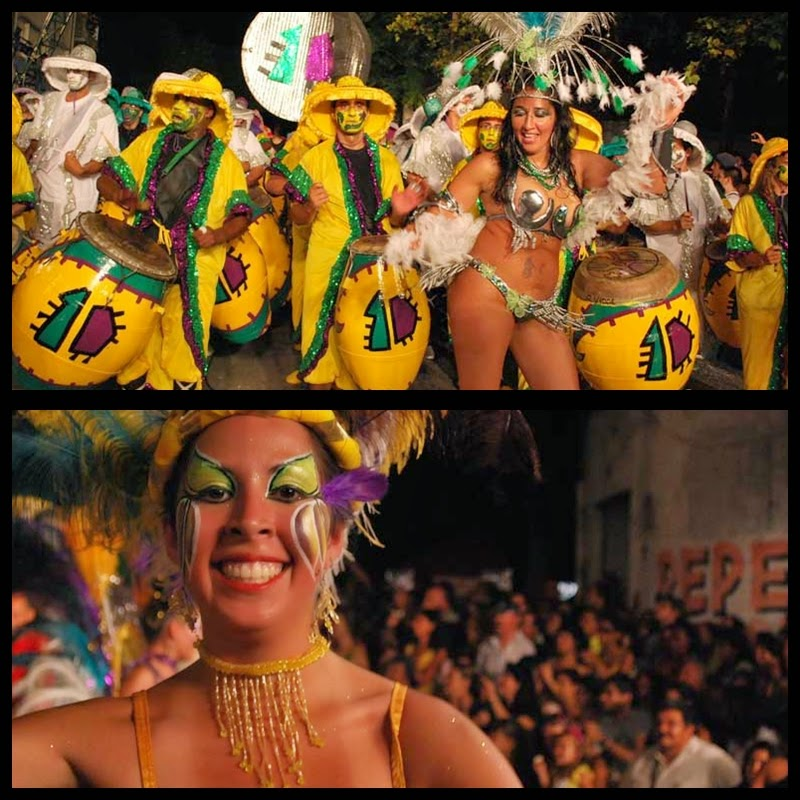 Carnaval. Desfile de Llamadas. Montevideo.La Gozadera. 2010.