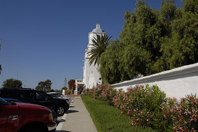 parking lot of the mission