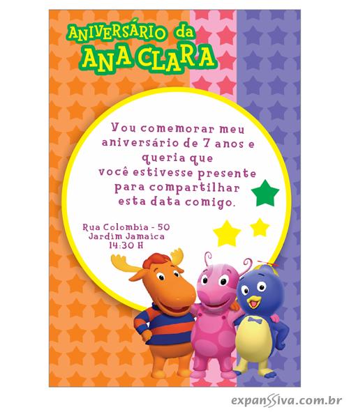 modelos deconvites de aniversario infantil Backyardigans %2B02 - Convites de Aniversário Infantil Backyardigans