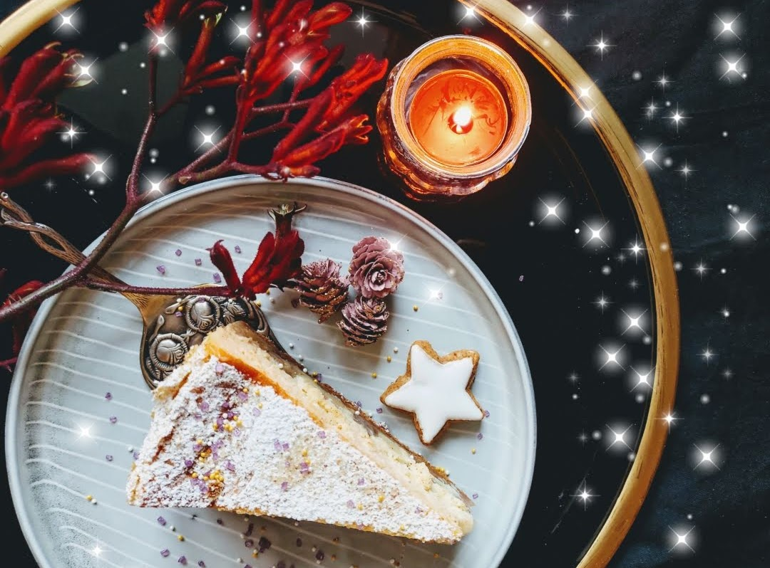 Cheesecake mit Spekulatius und Apfel - Rezept von Volker mampft | SCCC 2019: Türchen Nr. 19 | Gewinnspiel