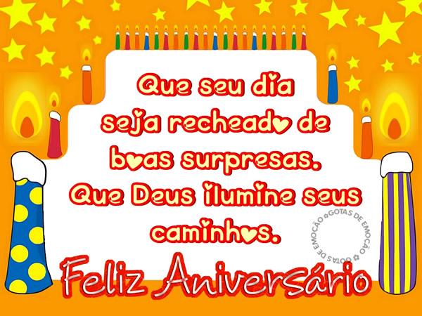 Feliz Aniversário Iluminado