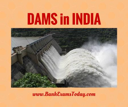 List of Important Dams in India PDF | BankExamsToday