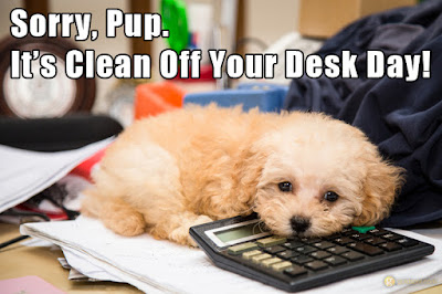 2016 Clean Off Your Desk Day