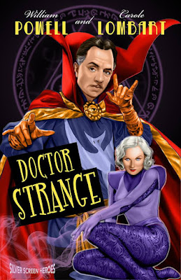 Doctor Strange Featuring William Powell as the good Doctor himself and Carole Lombard as Clea