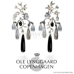 Queen Maxima wore Ole Lynggaard Copenhagen Earrings