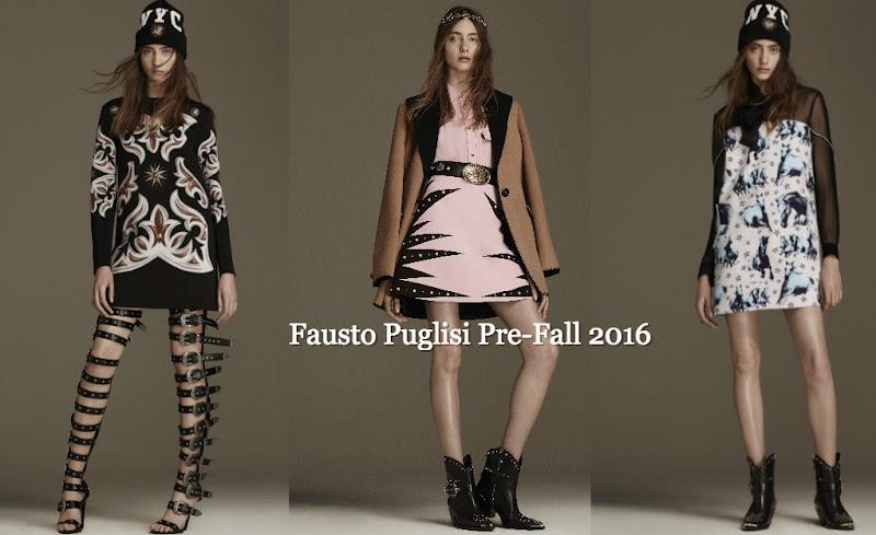 Fausto Puglisi Pre-Fall 2016