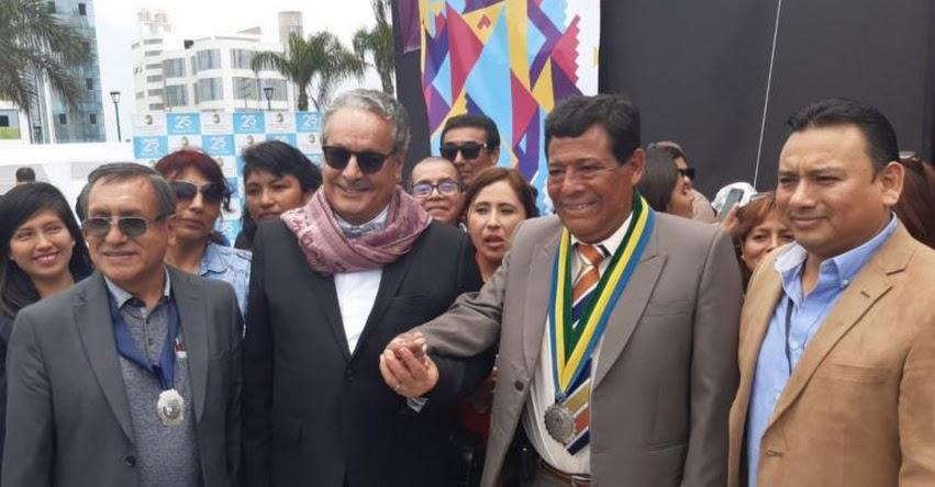 FELINCH 2019: Nobel de la Paz Ahmed Galai inaugura XII Edición de la Feria de Libro en Nuevo Chimbote