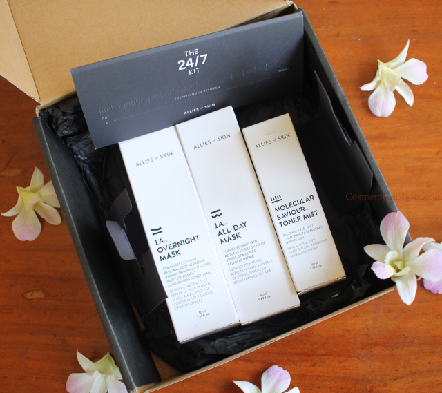 Review of the Allies of Skin 24/7 Skincare Kit