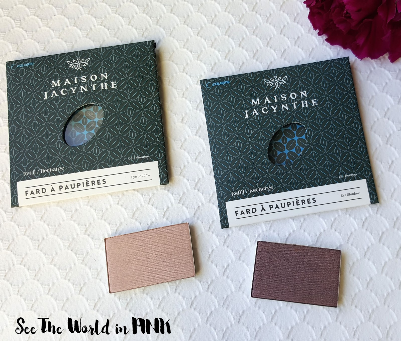 Maison Jacynthe Makeup - Eyeshadow and Mascara Reviews and Swatches