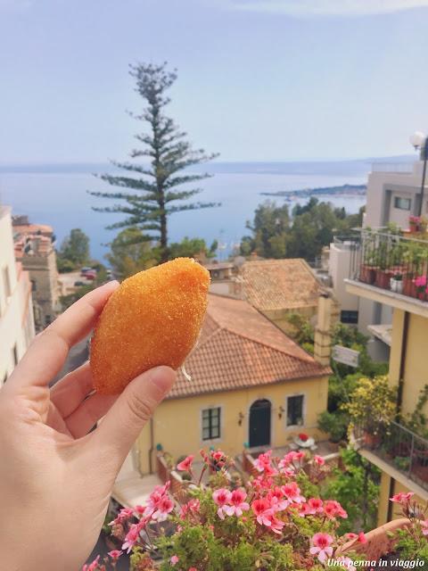 Dove mangiare a Taormina arancini