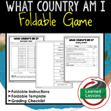 What Country I Am Foldable Game