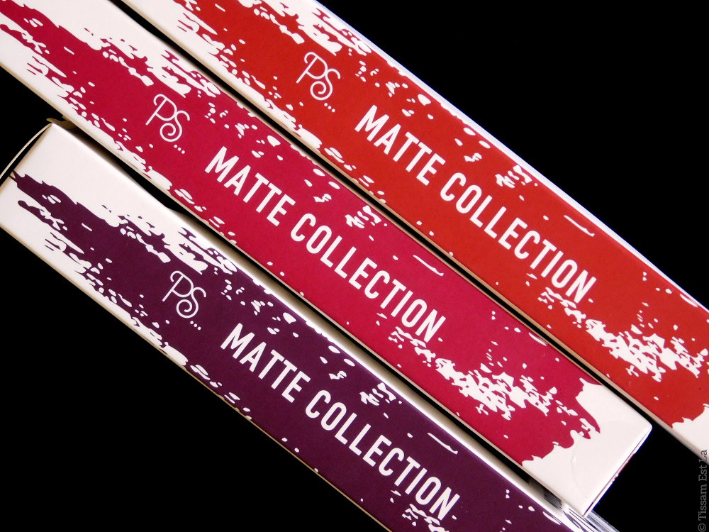 Primark PS... | Lip Kit Matte Collection - Riot, Punked & Lady In Red - Matte Liquid Lipstick & Lip Liner - Matte Rouge à lèvres liquide & crayon à lèvres - Swatches & Review - Avis et Revue - Chocolate Brownie - Molten Lava - Molten Bronze - Cookie Dough - Penneys - Swatch