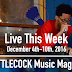 Live This Week: December 4th-10th, 2016