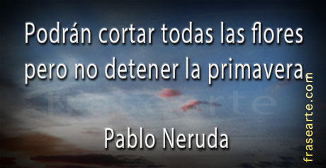 Las mejores citas de Pablo Neruda
