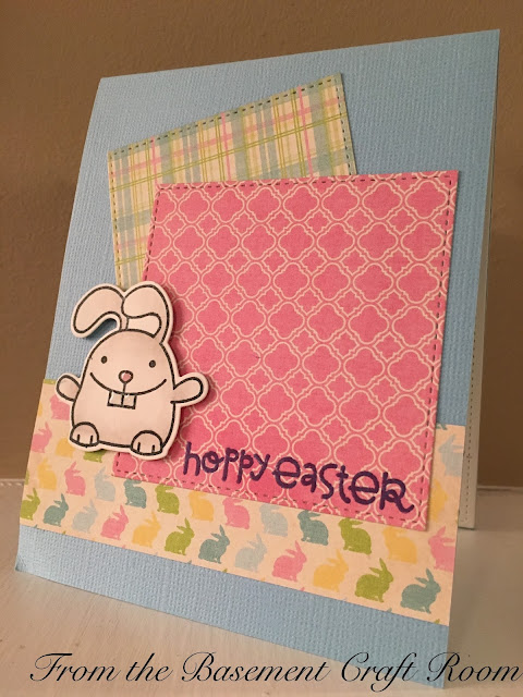 From the basement craft room hoppy easter for Stampin pretty craft room