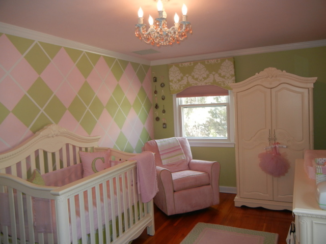 baby girl nursery ideas for painting
